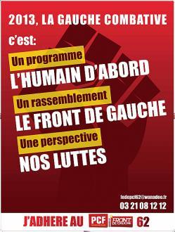 La Fédération communiste du Pas-de-Calais lance une grande bataille de renforcement au PCF